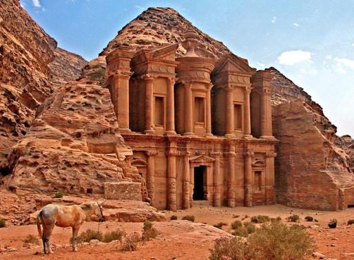 La Cité Pétra en Jordanie