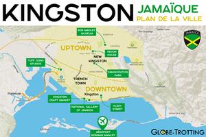 Plan Carte Kingston Map