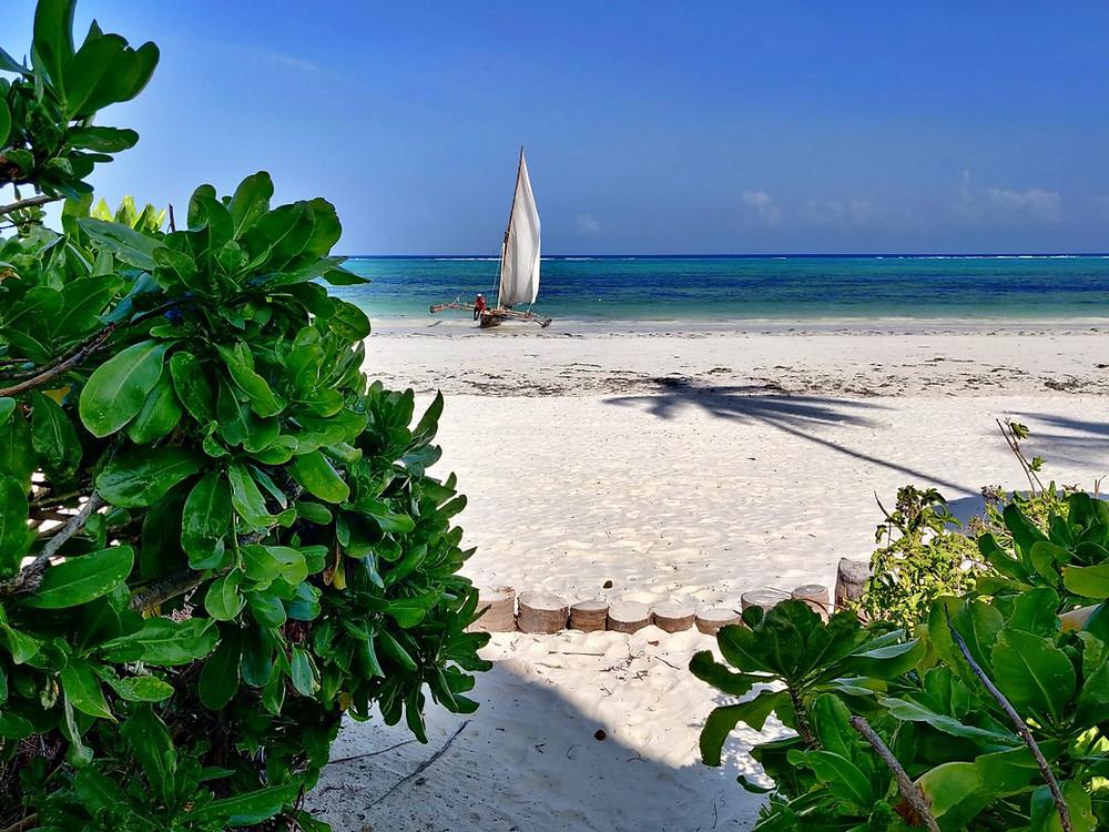 Sunrise Beach at Bandas plage matemwe