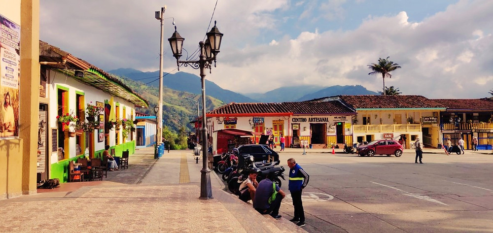 Place Salento en Colombie