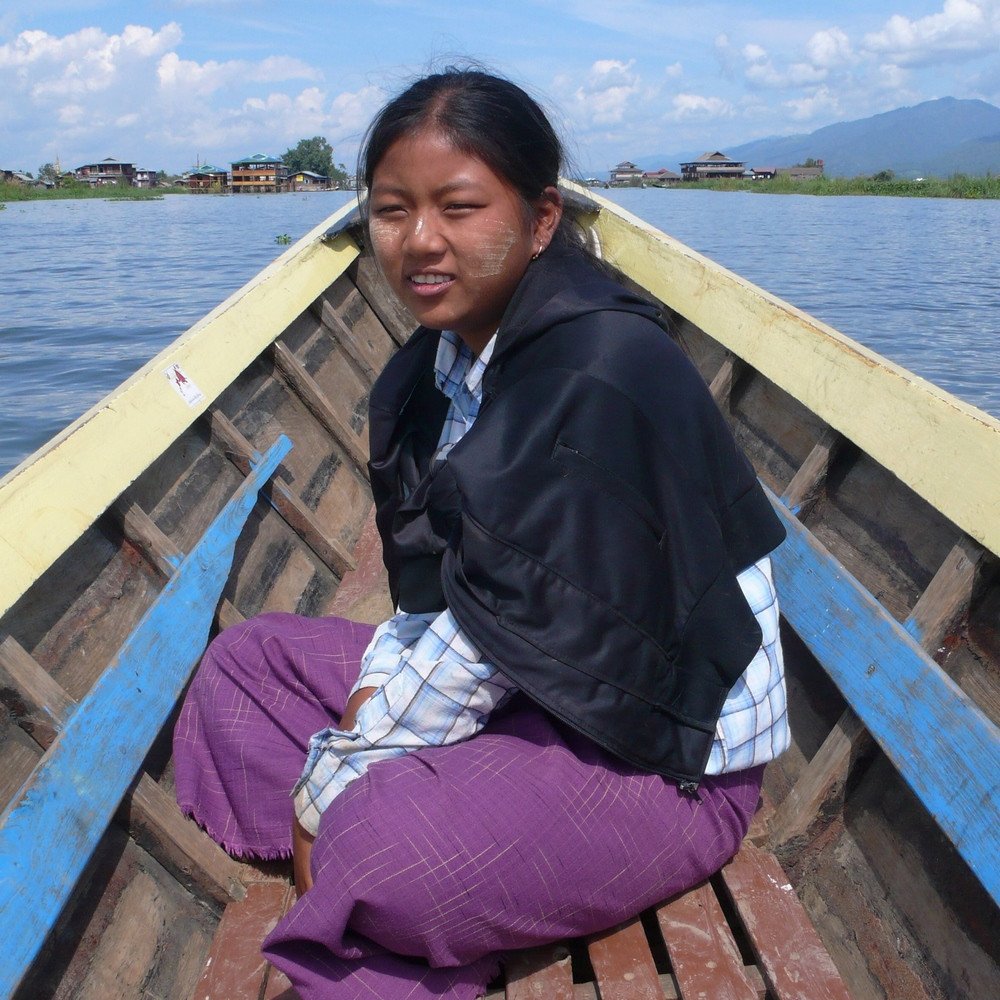 lac inlé pilote bateau