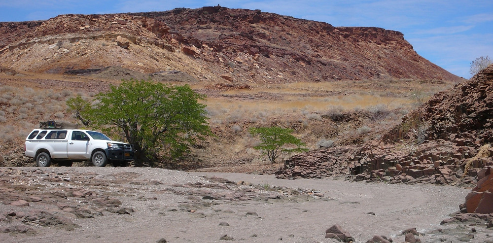 Road trip Namibie Damaraland