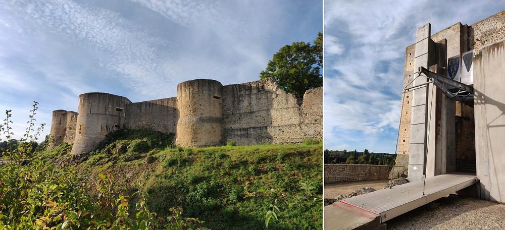 Chateau Guillaume le Conquérant Normandie médiévale