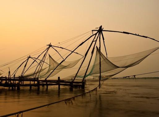 La péninsule de Fort Cochin (Kochi) en Inde