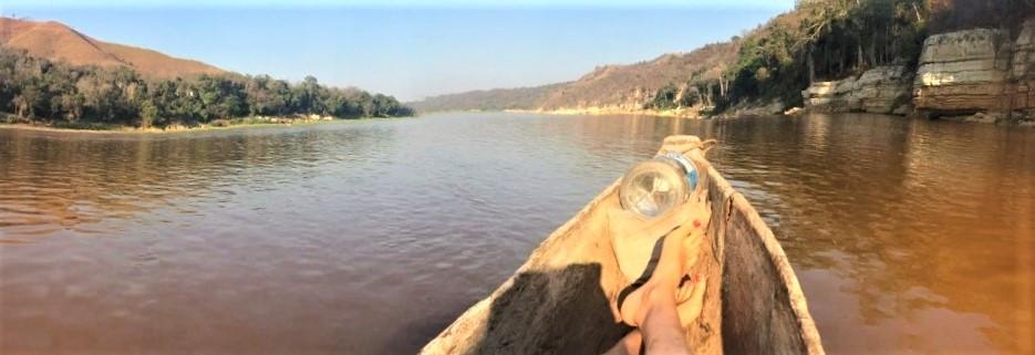 pirogue sur la Tsiribihina