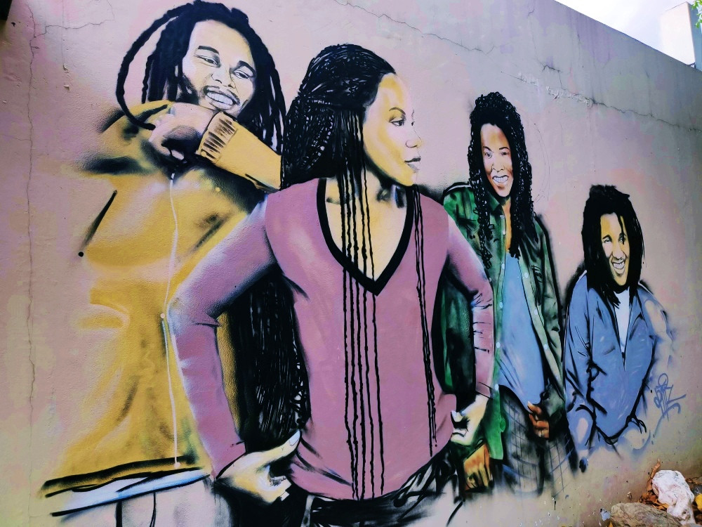 Fresque Kingston Jamaïque