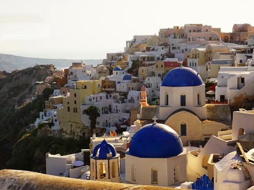 L'archipel de Santorin en Grèce