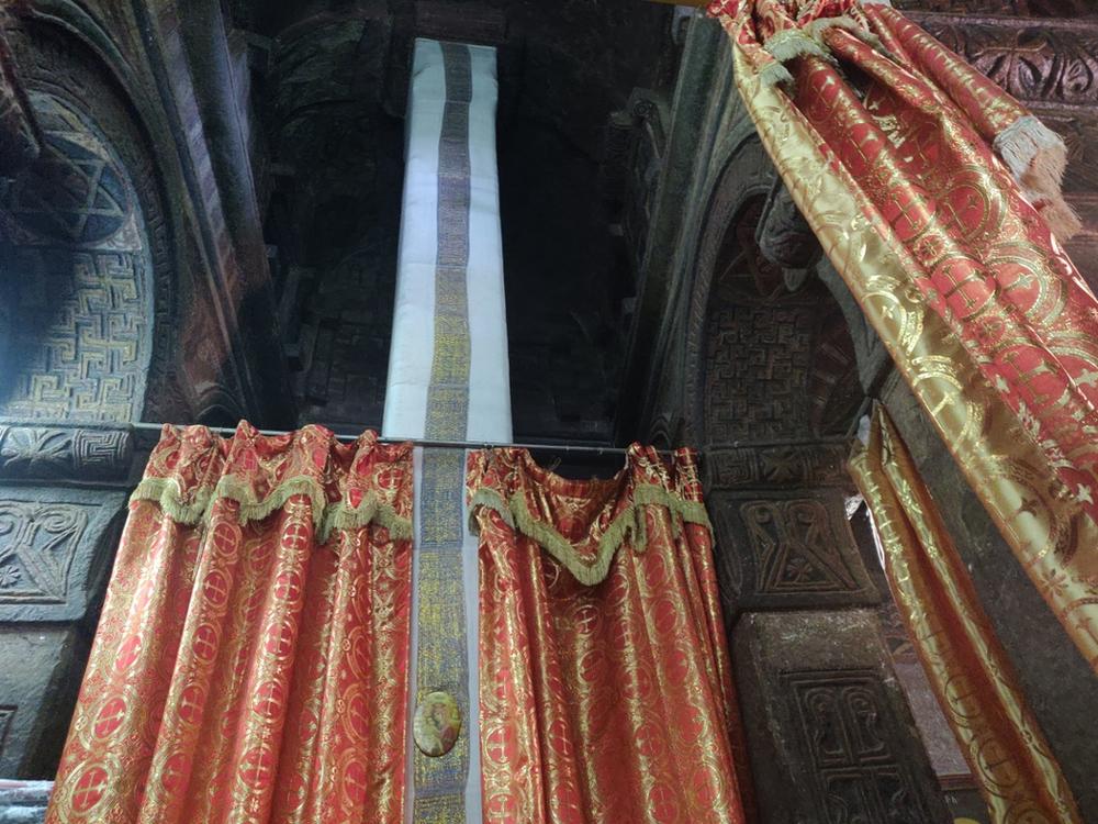 inétrieur églises Lalibela et Bete gyorgis en Ethiopie