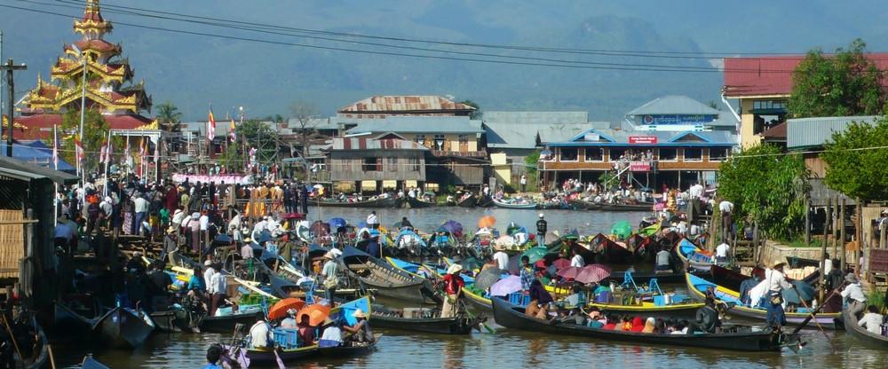 visite Lac Inlé Phaung Daw Birmanie