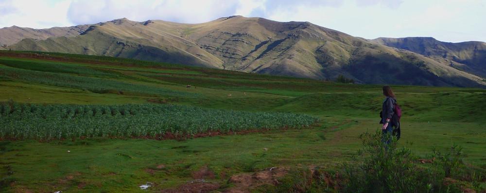 panorama Chinchero au Pérou