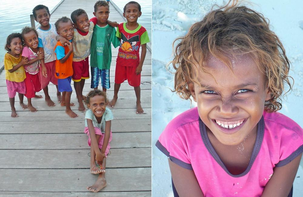 raja ampat papouasie enfants