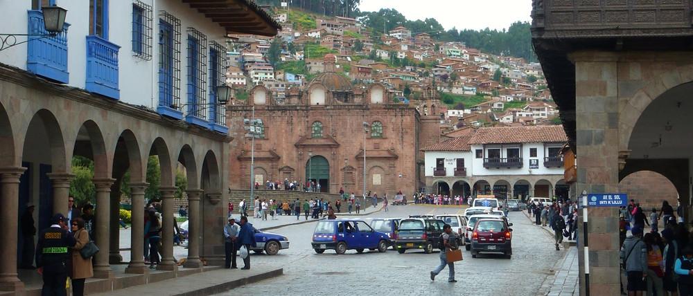 place des Armes visite Cusco