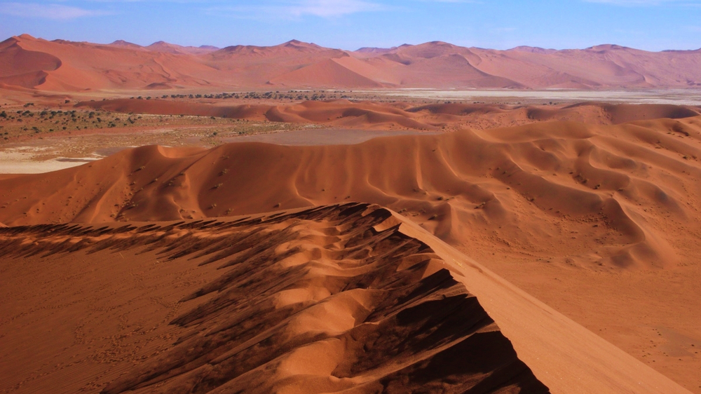 vue mer de sable sossusvlei