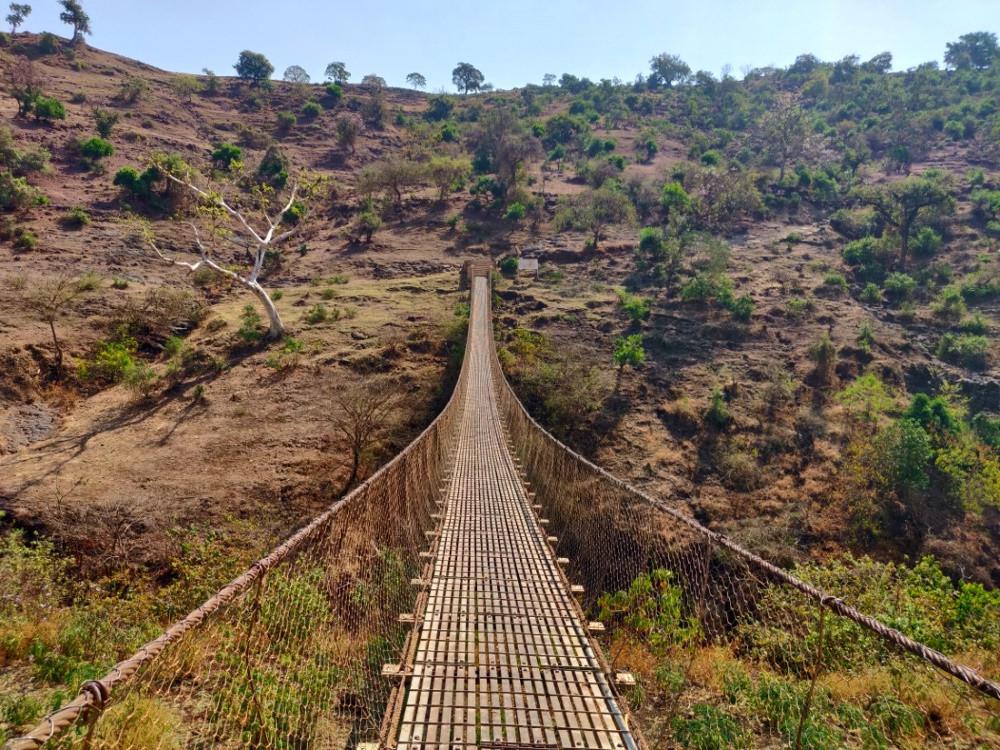 pont chutes du Nil Bleu en Ethiopie