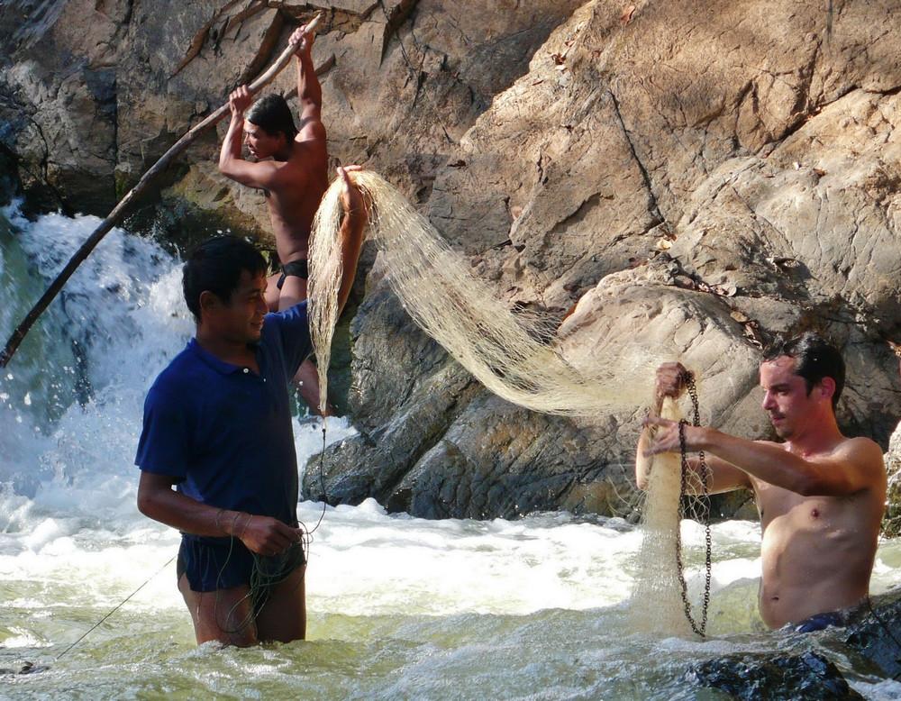 pêche traditionnelle laos