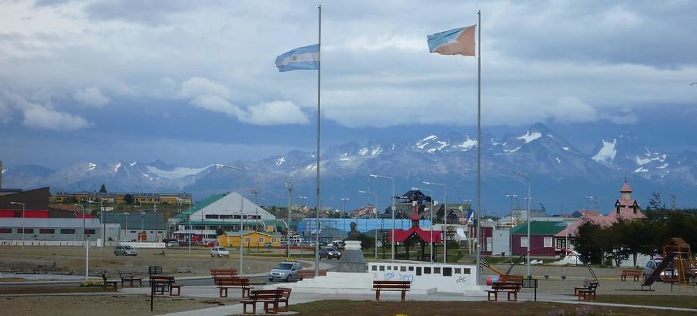 Voyage à Ushuaia sac à dos