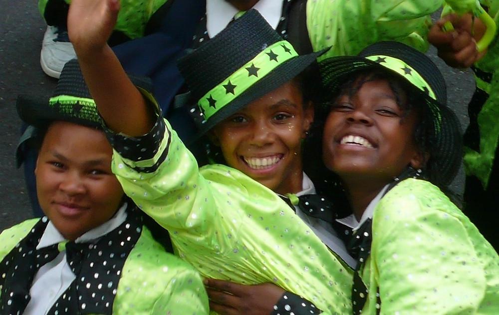 Minstrel coon carnival Kaapse klopse