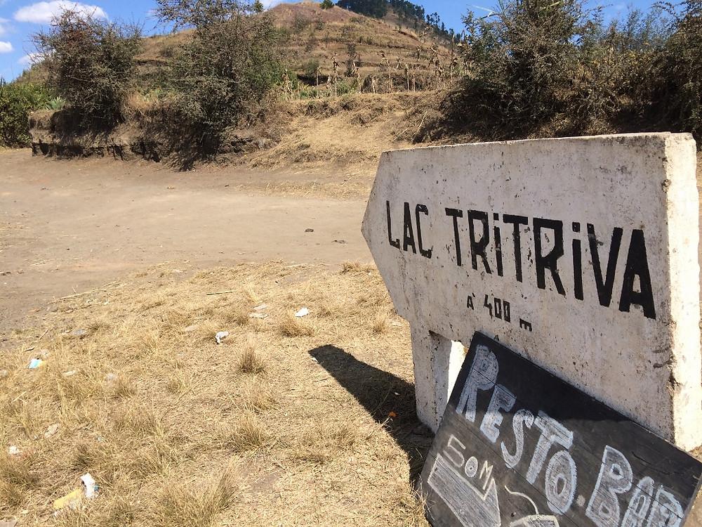 panneau Lac Tritriva