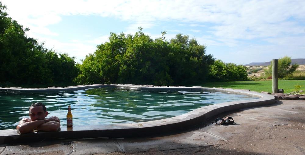 Damaraland lodge piscine