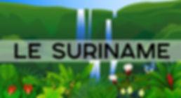 Pays sans touristes Suriname