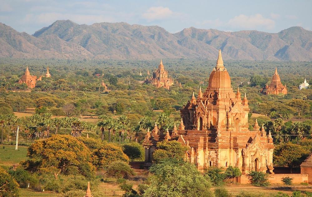 Bagan temple ordre visite