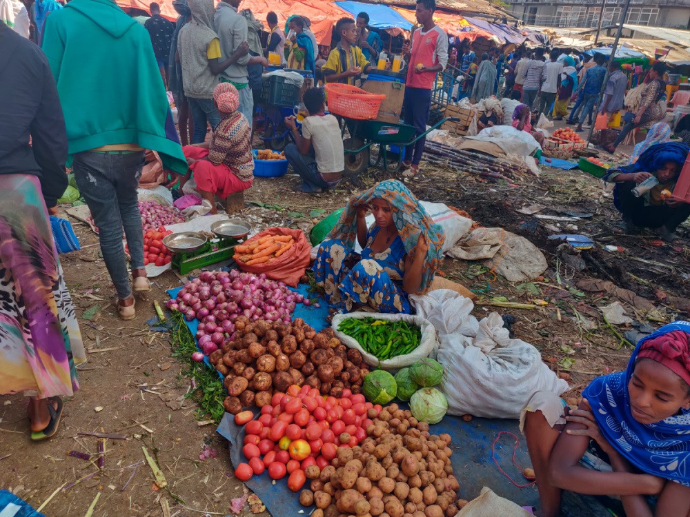 Marché Addis Abeba