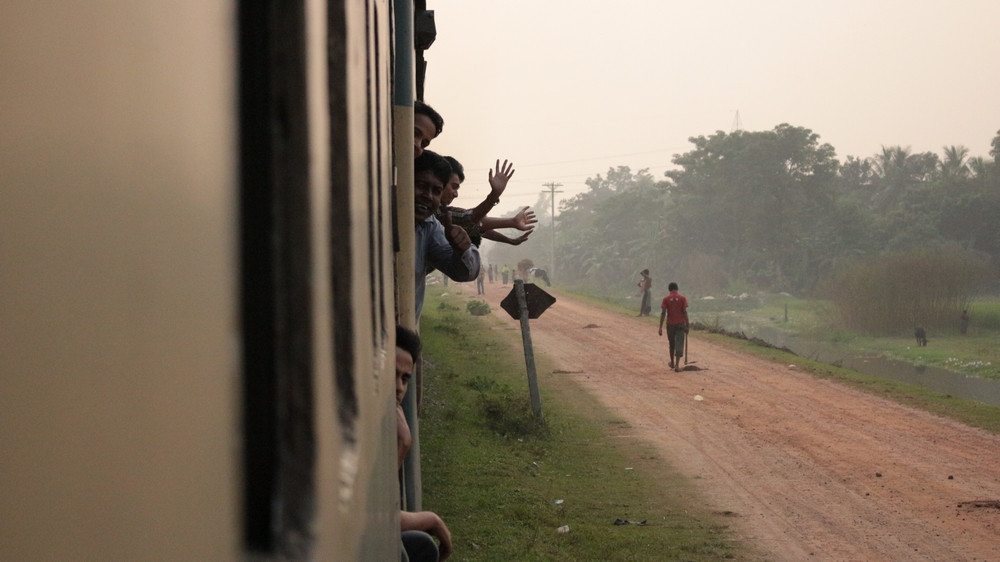 Trajet Train Bangladesh Dhaka Srimangal