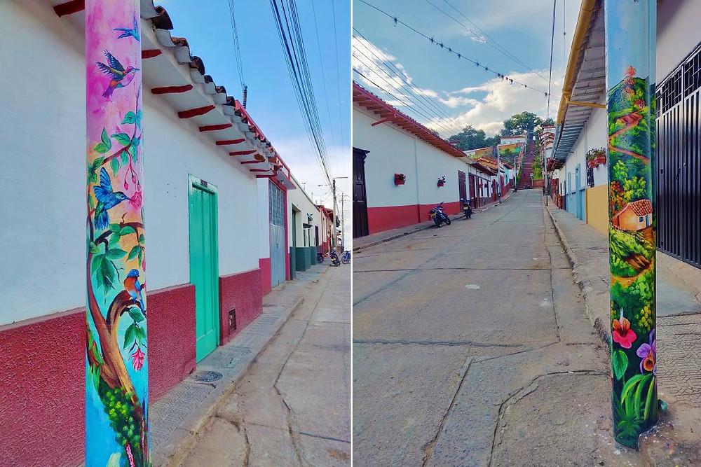Village de Zapatoca Colombie