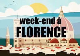 3 jours Italie Florence