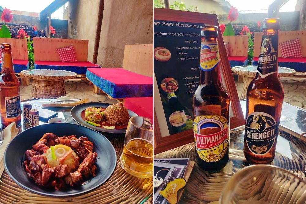 restaurant Dan Stam hotel Arusha