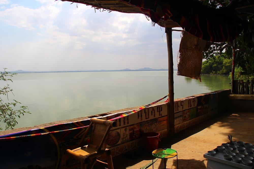 lac tana éthiopie péninsule zeguié