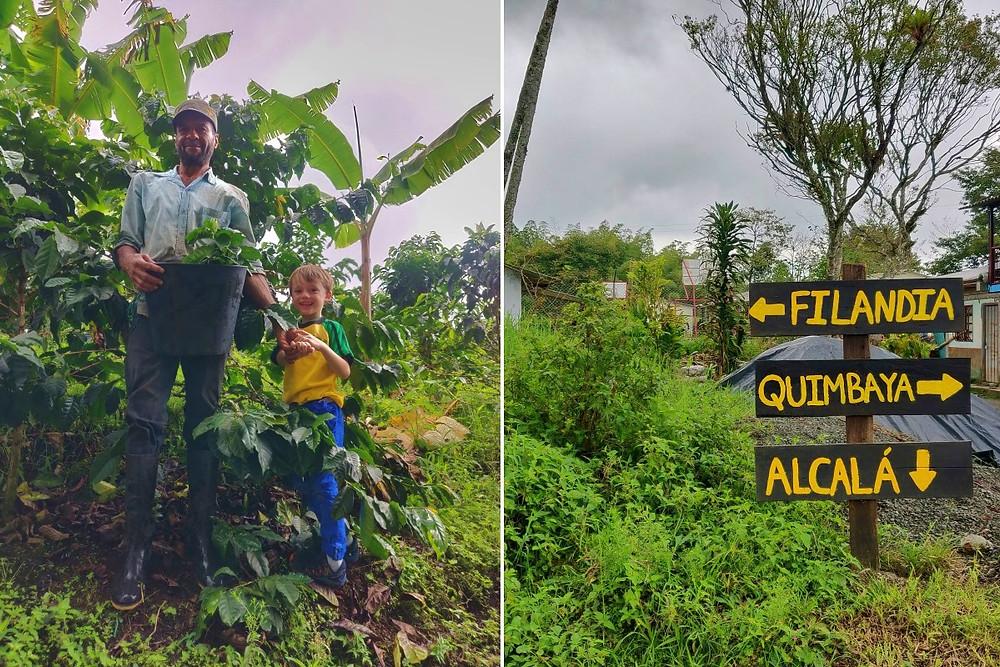 A voir à Alcala Colombie