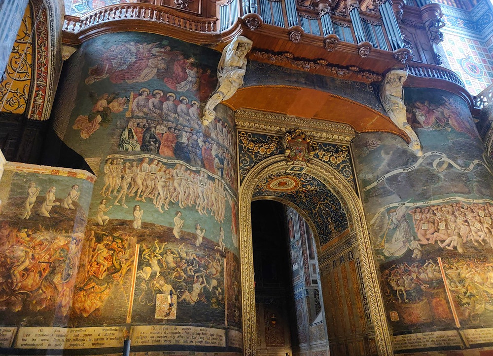 Fresque cathédrale Sainte-Cécile d'Albi