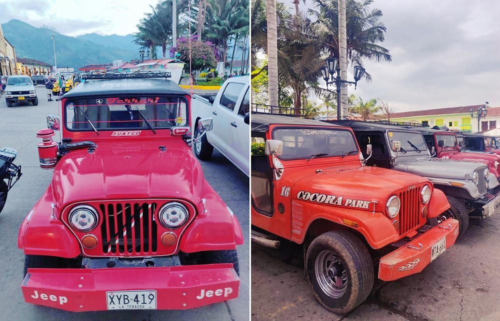 Jeep Salento en Colombie