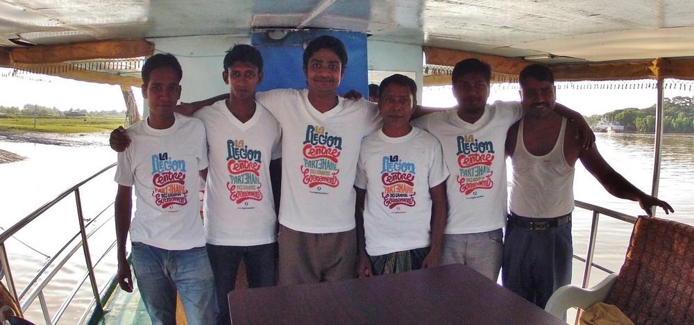 équipage Sundarbans voyage Bangladesh