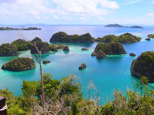 Les îles Raja Ampat en Papouasie occidentale