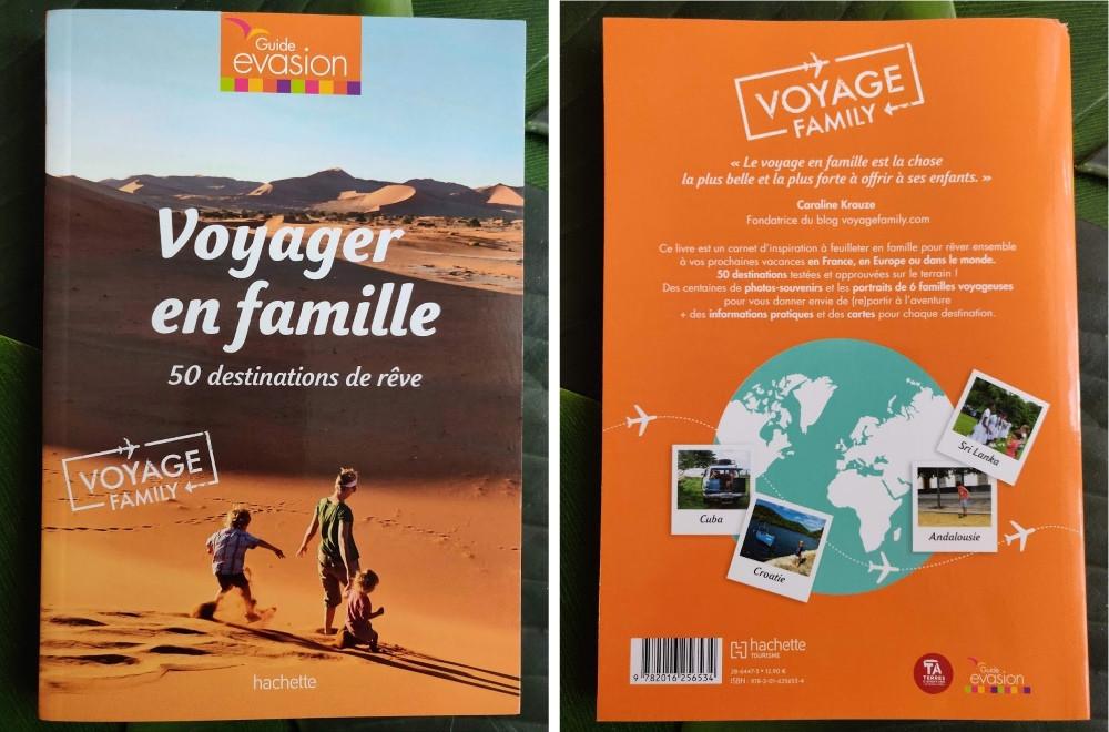 Livre Voyager en Famille