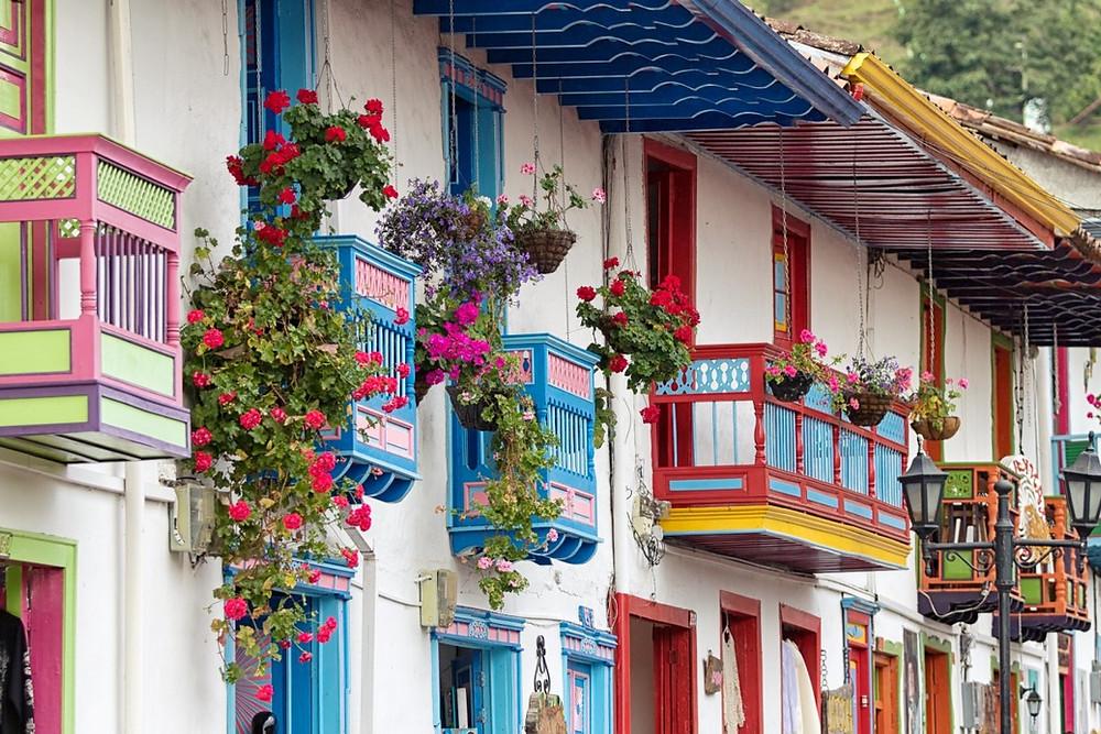 Balcons fleuris Salento
