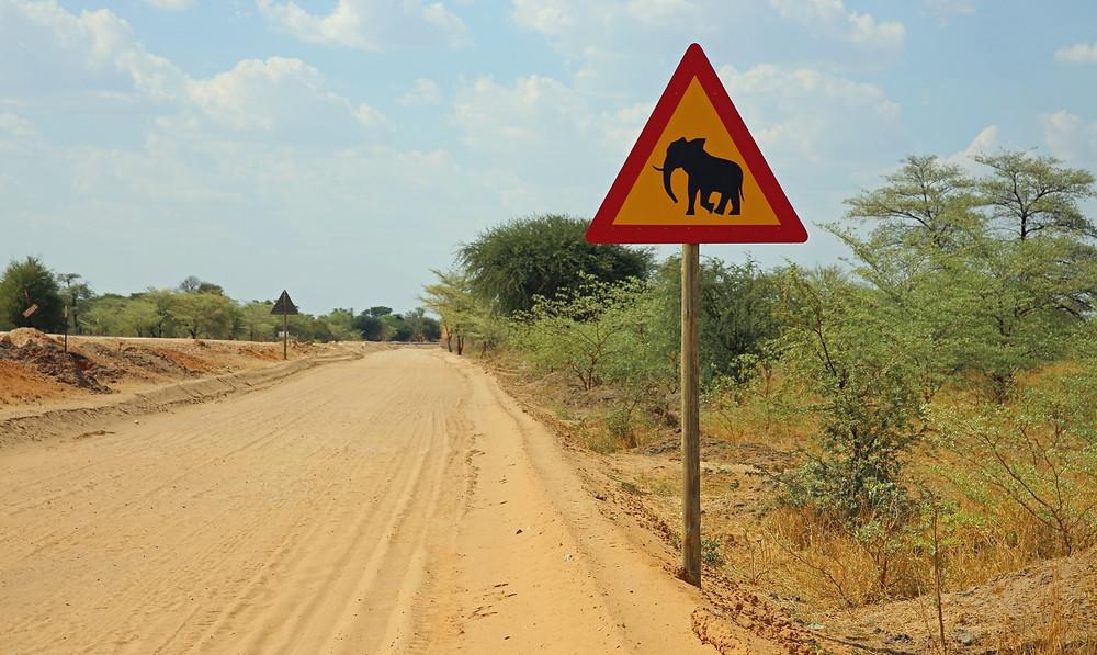Bande de Caprivi route