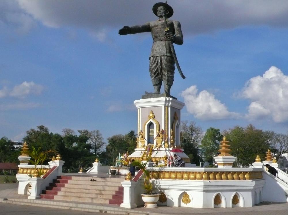 Vientiane Laos à voir Parc Chao Anouvong
