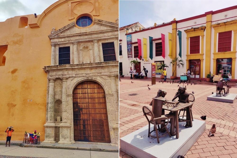 place San Pedro Claver carthagène