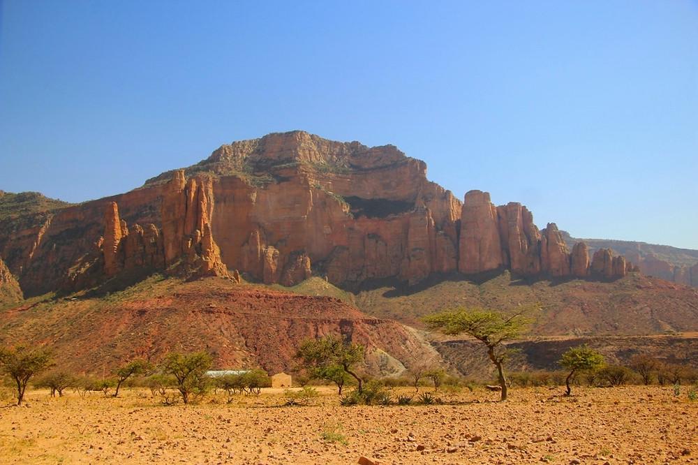 Gheralta massif éthiopie route