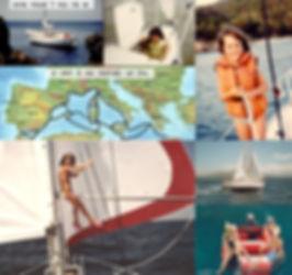 Vacances sur un voilier en famille