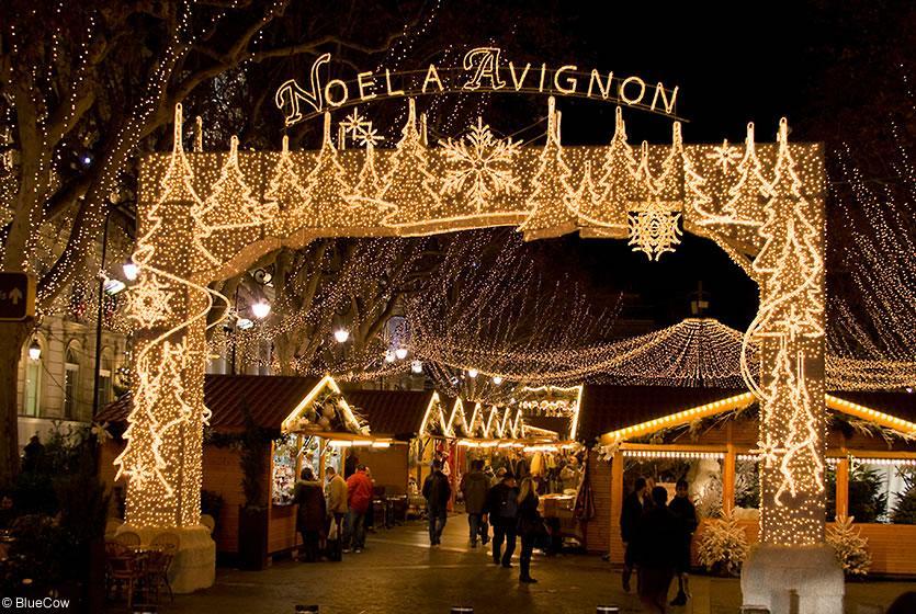 Fêter Noël à Avignon