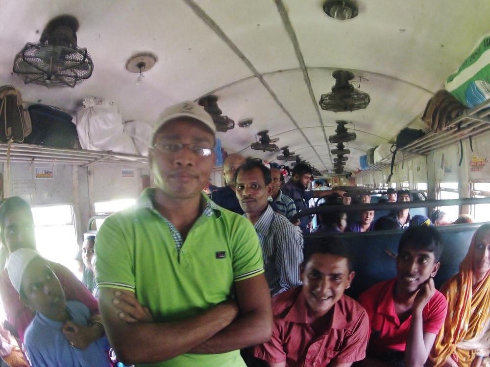 voyage  Bangladesh en train