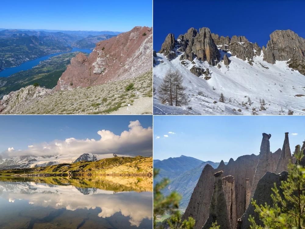 montagnes lac de Serre-Ponçon