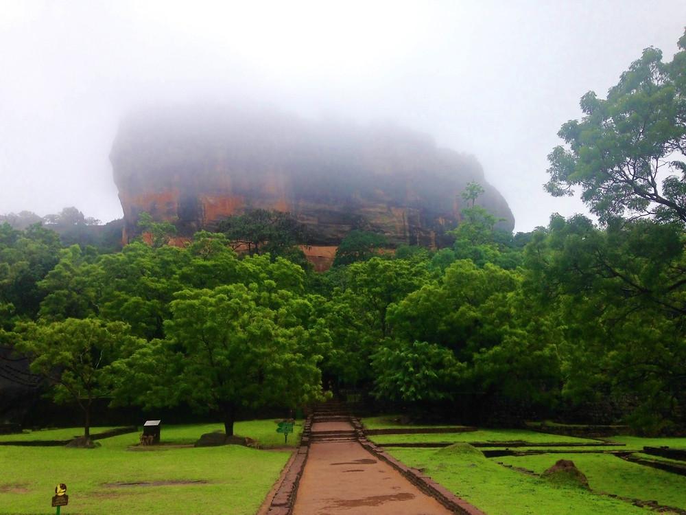 Sigîriya au Sri Lanka