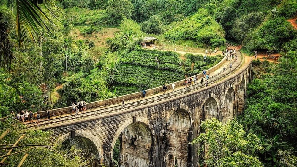 Nine Arches Bridge Ella au Sri Lanka