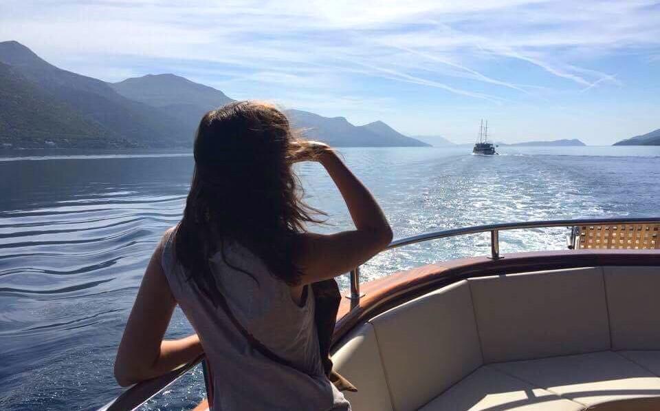 croisière îles de croatie vue
