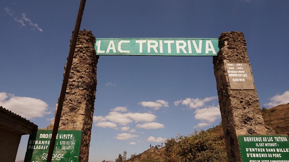 Lac Tritriva entrée